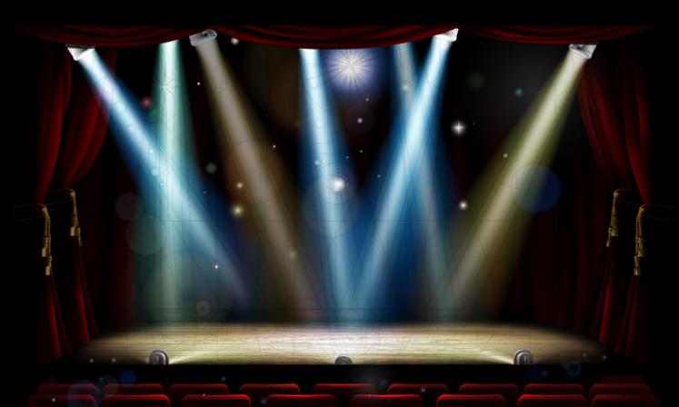 750x450 stage lights