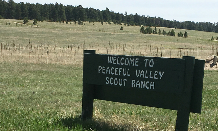 Peaceful Valley Scout Ranch in Colorado