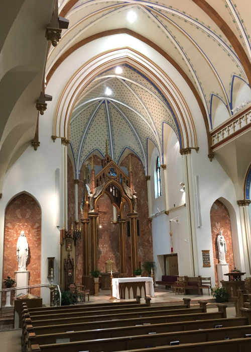 The Cathedral of St. Mary