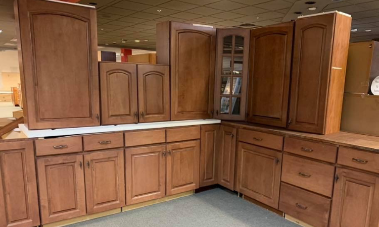 kitchen cabinets recently sold at Bud's