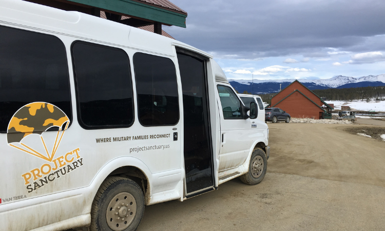 Project Sanctuary Bus at Snow Mountain Ranch