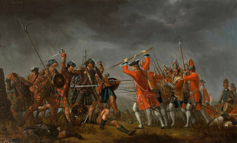The Battle of Culloden by David Morier (1705?–1770) - Royal Collection Trust